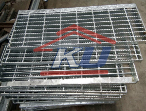 Steel Grating Murah Spasi 30 x 100 mm Serrated Close End Galvanis