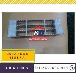 Steel Grating Murah Plat Terbuka Ready Gudang Sidoarjo Harga Include PPn